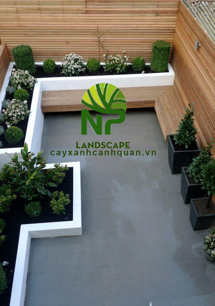 NP Landscape - Thi công cảnh quan sân vườn đẹp